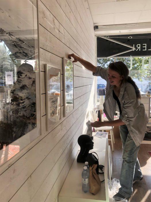 Elisabeth Biström, utställning på galleri tint 2019