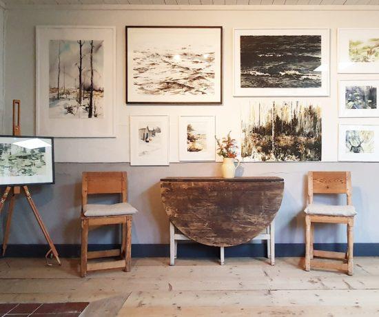Elisabeth Biströms ateljé